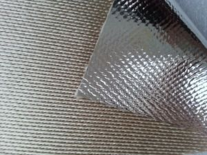 Fireproof and Heat Insulation Aluminum Foil Glass Fiber Cloth pictures & photos