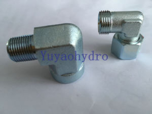 DIN Bite Type 24 Degree Elbow Hydraulic Tube Fittings Adapter pictures & photos