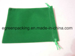 Single Side Velvet Jewelry Bag / Gift Bag / Promotion Pouch / Accessories Bag pictures & photos