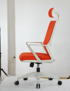 Fabric Upholstered Swivel Office Chair pictures & photos