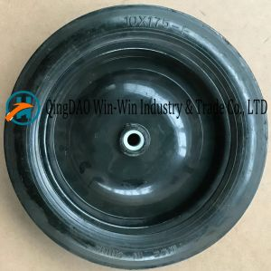 Flat-Free PU Wheel for Hand Trucks Wheel (10*1.75) pictures & photos