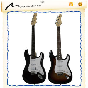 Black and Blue Electric Guitar Wholesale pictures & photos