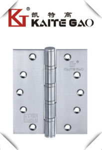 "(6""X5""X4.0mm-4BB) Stainless Steel Ball Bearing Wooden Door Hinge pictures & photos"