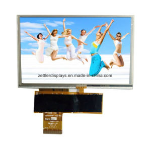 "5"" TFT Display, 480X272, with Resistive Touch Panel: ATM0500d14-T pictures & photos"
