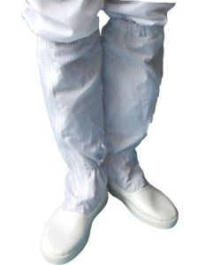 [Work Shoe]ESD PU Booties for Cleanroom Work Shop pictures & photos