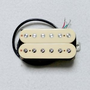 Donlis Nickel Silver Baseplate AlNiCo 2 Cream Guitar Humbucking Pickup pictures & photos