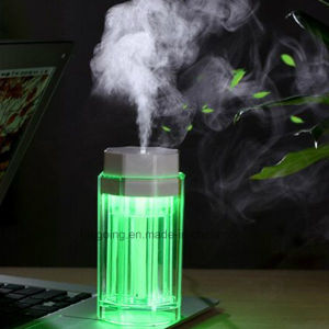 Wholesale LED Color Night Light Humidifier USB Powered Car Humidifier pictures & photos