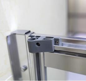 Bathroom MID-Range 6mm Bifold Door Shower Enclosure (MR-BF8090) pictures & photos