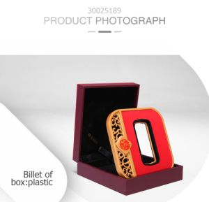Commemorative Retro Clamshell Plastic Red Gift Box pictures & photos