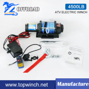 off-Road Electric Winch (UTV 12V 4500lbs-1) pictures & photos