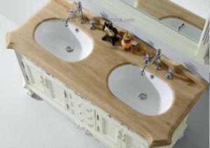 Solid Wood Bathroom Furniture Sw-63004 pictures & photos