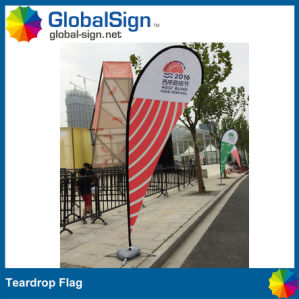 China Factory Direct Outdoor Advertising Full Color Printing Custom Teardrop Flags Banners pictures & photos