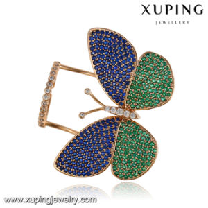 Fashion Elegant Multicolor CZ Butterfly Jewelry Finger Ring for Women-14108 pictures & photos
