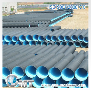 HDPE PP PVC Double-Wall Corrugated Pipe Plastic Machine Line Extrusion pictures & photos