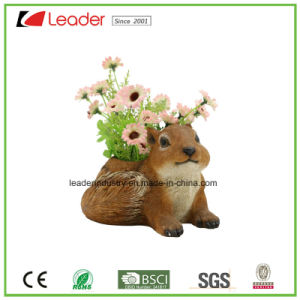 Polyresin Cute Sheep Boy Flowerpots&Planters for Garden Decorative pictures & photos
