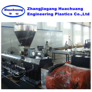 Twin Screw Extruder and Small Plastic Recycling Mini Granulator Machine pictures & photos