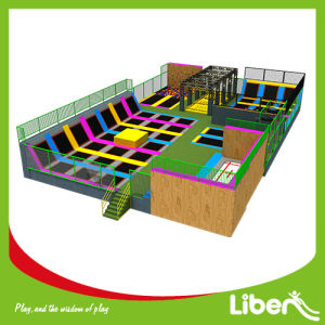 TUV Certified China Commercial Indoor Trampoline Park for Sale pictures & photos