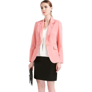 Made to Measure One Button Women Suit Jacket pictures & photos
