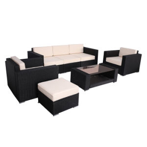 Patio Garden Leisure Furniture Living Room Balcony Rattan Sofa Set pictures & photos
