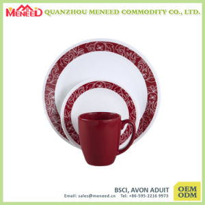 OEM & ODM Are Welcomed Canteen Use Plastic Dinnerware pictures & photos