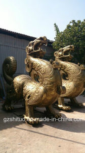 Copper Products Outdoor Garden Sculpture, Water Features Sculpture, Indoor Sculpture pictures & photos
