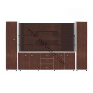 Stylish Multi-Layer Wooden Office School Study Filing Cabinet pictures & photos