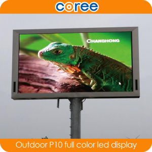 Outdoor High Brightness P10 Full Color LED Display pictures & photos