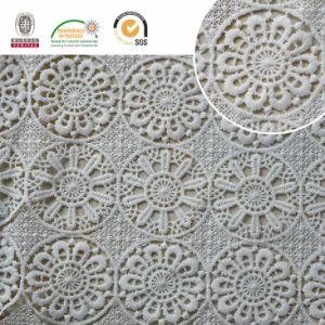 Newest Popular Lace Fabric Wtih Neat Floral Pattern, Textile and Bridal E20044 pictures & photos