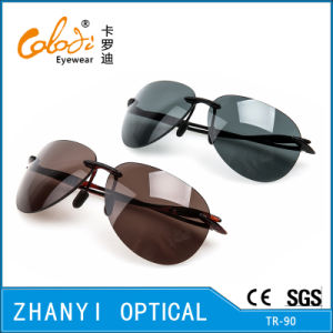 Sport Tr90 Sunglasses for Driving with Nylon Lense (S2081-C1) pictures & photos