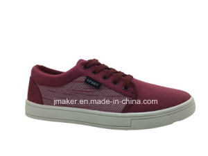 China Factory Men Casual Canvas Walking Footwear (J2611-M) pictures & photos