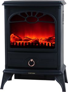 European Style Free Standing Electric Fireplace pictures & photos