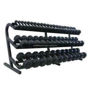 Rubber Hex Dumbbell Neoprene Dumbbell Gym Fitness Equipment Crossfit pictures & photos