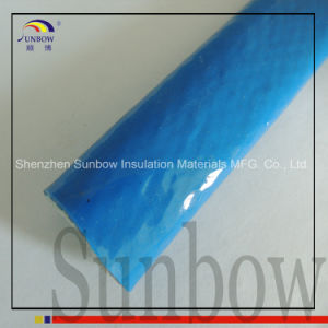 Sunbow Rust Red High Temp Resistant Silicone Fiberglass Fire Sleeve pictures & photos