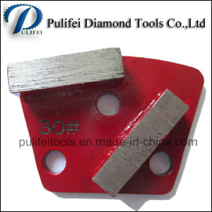 Trapezoid Metal Grinding Pad for Marble Floor Grinding pictures & photos