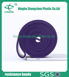 High Strength Custom Woven Elastic Band Resistance Exercise Bands pictures & photos