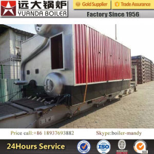 Double Drum Big Size Burning Room High Efficiency 2ton 4ton 6ton Biomass Paddy Fired Steam Boiler pictures & photos