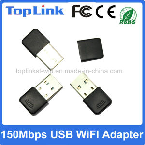Top-GS05 Mt7601 Low Cost 150Mbps 11 Bgn USB Wireless WiFi Adapter for Promotion Gift pictures & photos