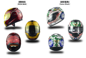 Professional Full Face Scooter/Motorbike/Motorcycle Helmet (0700B) pictures & photos