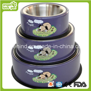 Pet Detachable Bowl Yapee Dog Printing Bowl pictures & photos