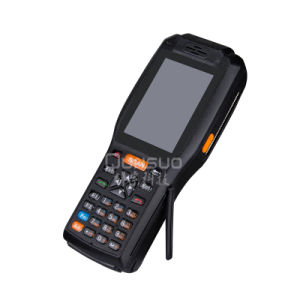 Wireless Android 3G Industrial Rugged Handheld Terminal with Thermal Printer pictures & photos