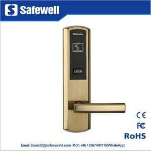 2mm 304 Stainless Steel RF System Hotel Door Lock pictures & photos