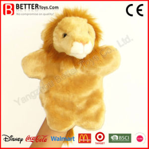 Stuffed Plush Animal Lion Hand Puppet for Kids/Children pictures & photos