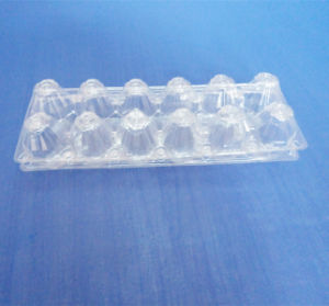 12 Cells PVC Blister Packing Box for Eggs Clear Blister Tray for Eggs pictures & photos