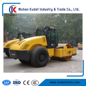 Single Drum Road Roller with Footpad Lsd214h pictures & photos