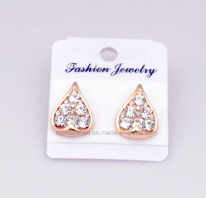 Aretes Dijes Pendientes PARA Dama Water Drop fashion Charm Stud Earrings Fashion Jewelry pictures & photos