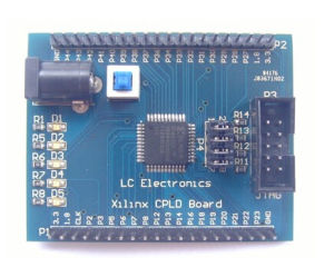 Xc9572XL AMS Cpld Development Learning Board Test Board+4 Programm LED pictures & photos