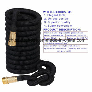 All New 2017 Expandable Garden Hose 25 Feet with 8 Spray Pattern Nozzle. Strongest Expanding Garden Hose on The Market with Triple Layer Latex Core & Latest Imp pictures & photos