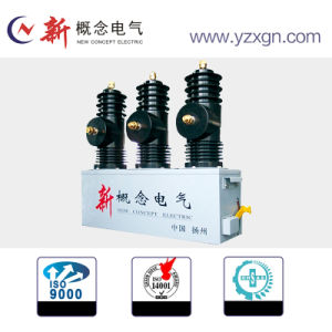 Maintenance Free Outdoor Vacuum Circuit Breaker High Voltage 12kv with Permanent Magnetic Operation Mechanism pictures & photos