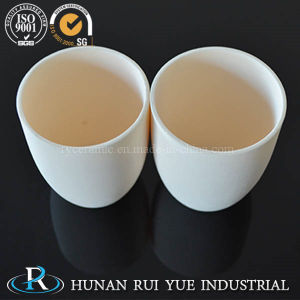 Customised Ceramic Corundum Boat Crucible Alumina Crucibles pictures & photos