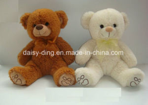 Plush 2 Asst Teddy Bears for Baby with Hat and Scarf pictures & photos